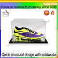 Grande acrílico transparente sapatilha/caixa de sapatos/sapatilha caixa de exposição