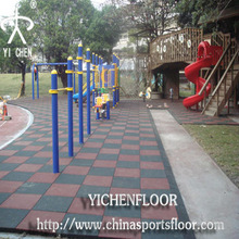rubber sports floor outdoor basketball playground rubber