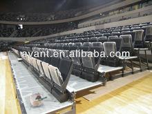 telescopic bucket seat,telescopic bucket chair for indoor multifunctional court use