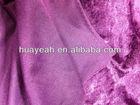 Hot sale and new design black velvet drape manufacture