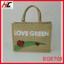 jute bag manufacturers wholesale make home eco-friendly tote shopping bag