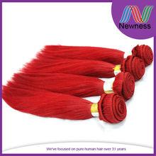 12Inch Brazilian Red Virgin Remy Extensions Hair Grade Chart