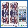 C&T Skull flag pattern pc case for apple iphone5