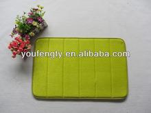 microfiber memory foam bath rug