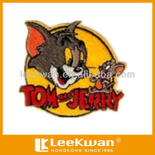 cartoon cute cat embroidery patch badge emblem for child's garment