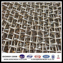 galvanized steel crimped wire mesh 3mm china manufacturing