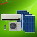De energía solar de aire acondicionado, 100% dc 48v, btu 12000 montado en la pared splite soalr acondicionador de aire