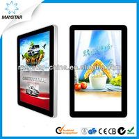 55 inch 3g wifi wall hanging full hd touch screen cheap panel pc