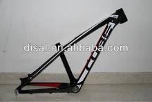 China wholesale! Carbon mtb frame cube Carbon mountain frame 26er CUBE 14''/16''mtb frameset