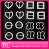 wholesale various shape embellishments rhinestone shoe buckles