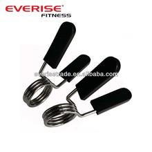 Barbell Bar Collars 2-Inch Chromed Spring Clip Collar Olympic