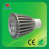 high bright ce rohs aluminum 7w gu10 led bulbs 220v
