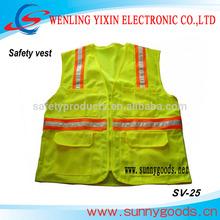 safety vest fabric, cycling clothing, EN471 Standard safety vestSV-25