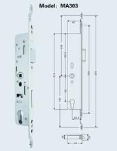 Door locks for aluminium door MA303