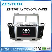 ZESTECH DVD Supplier 2 Din Touch screen Car Audio Navigation for Toyota Yaris Navigation System Radio DVD GPS Bluetooth