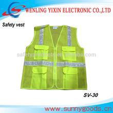 safety vest with ID pockets, en471 reflective safety vest SV-30
