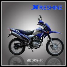 off road dirt bike 200cc chinese motocicleta