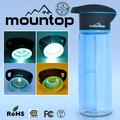 deportes botella de agua de fabricación al por mayor con la esterilización uv