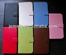 For Samsung galaxy Note 3 Genuine Real Leather wallet case cover mobile phone case