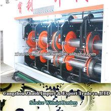 gyk سلسلة سرعة الطباعة العالية، slotter ويموت قطع stacke حار بيع والمصنوعة في الصين