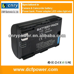 LP-E6 LPE6 Lithium Battery For Canon EOS 5D Mark II 7D