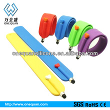 2014 High quality Touch pen for laptop/Smart phone with slap bracelet