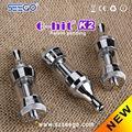 Nuovo design aggiornamento da seego g-hit k1 per seego g-hit k2 sapone pietra pipe