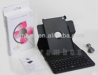 Bluetooth Stand PU Leather Case Cover with Keyboard for Apple iPad mini
