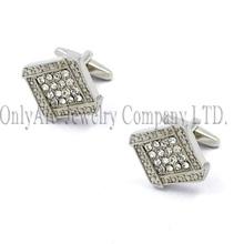 immitation stone glue on brass cufflinks