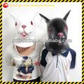 cabeza de animal máscara de conejo de pascua disfraces