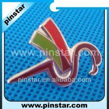 Metal soft enamel swan brooch pin animal clothes pins