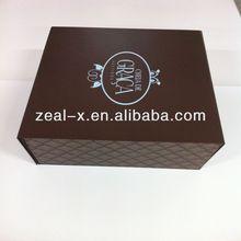 Custom design gift packaging wedding folding box with mangnet