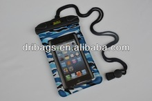 Waterproof fancy cell phone bag for iphone 5s