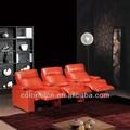Novo modelo de canto sofá reclinável na china( 610- 1)