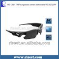 A prueba de agua de alta definición digital con estilo gafas de sol de la cámara y videocámara mini grabadora de vídeo para deportes al aire libre re-sg100