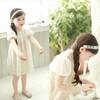 Korean edition children dress summer 2014 new model of shining little star doll dresses of the girls