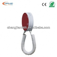 display stand for mobile phone with spring string for customer view