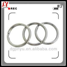 blank keyring for stainless steel chain/carabiner