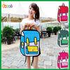 Encai New Fashion 3D Cartoon Comic Women's Backpack/2D Knapsack /Stocked Ladies 3D Shoulder Bag