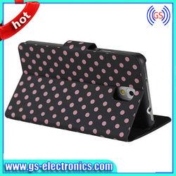 Polka Dot Pattern Case PU Leather Wallet Flip Case For Cellphone Ultra thin case