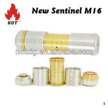 Best selling sentinel vaporizer m16 mod clone hotcig mod Magneto Mod with high quality