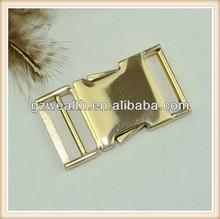 2014 Fashion metal side release buckle /belt buckle manufacturer