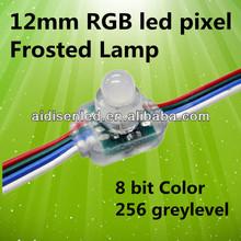 ws2801 12mm led pixel module light waterproof