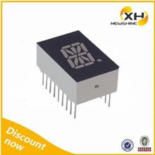"FND DIP Multicolor 0.39"" 0.50"" 0.54"" 0.80"" 1.0"" led 16 segment display"