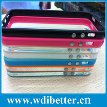 Bumper Protector Frame Case Cover for iPhone 5 5G Thickness of TPU Bumber cover for iphone5
