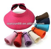 2014 Fashion Natural Straw Hat Wide Brim Summer Hats For Women