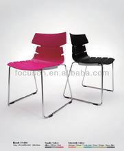 FKS-SC-CT605 Livingroom chair, 2014 new design modern leisure chair with chrome leg