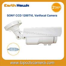 1/3 SONY 1200TVL CCTV Camea with varifocal lens OSD