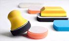 Wax/Polish Applicator Kit,PU sanding block with foam pad,Foam Polishing Pad