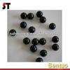 Rubber Silicone Ball Black For Gunshot Purpose